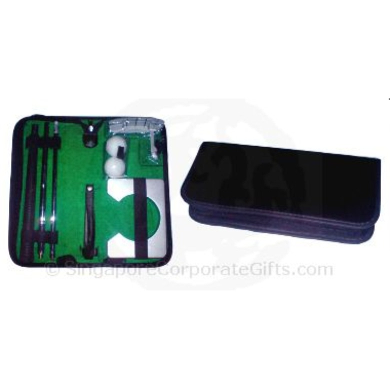 Golf Set (Metal with Leather Case)-2