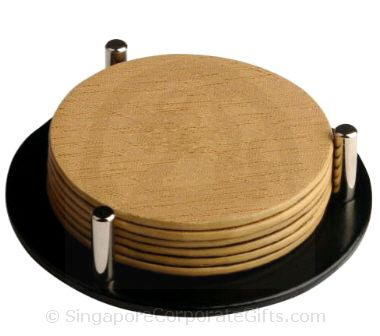 Exclusive Wooden Coaster (6 pcs)