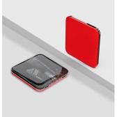 Mirror Finish Square Wireless Charging Power Bank P-176