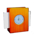 Alarm Desk Clock With Card Holder 2