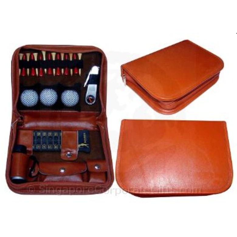 Exclusive Leather Golf Set