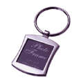 Metal Keychain with Photo Frame