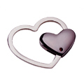 Heart Metal Keychain -2
