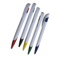 Solid White Ball Pen - 6673