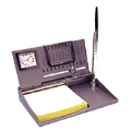 Exclusive Memo Holder With Clock, Calendar and Pen