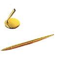 Exclusive Gold Plated Pen Holder with Pen -4
