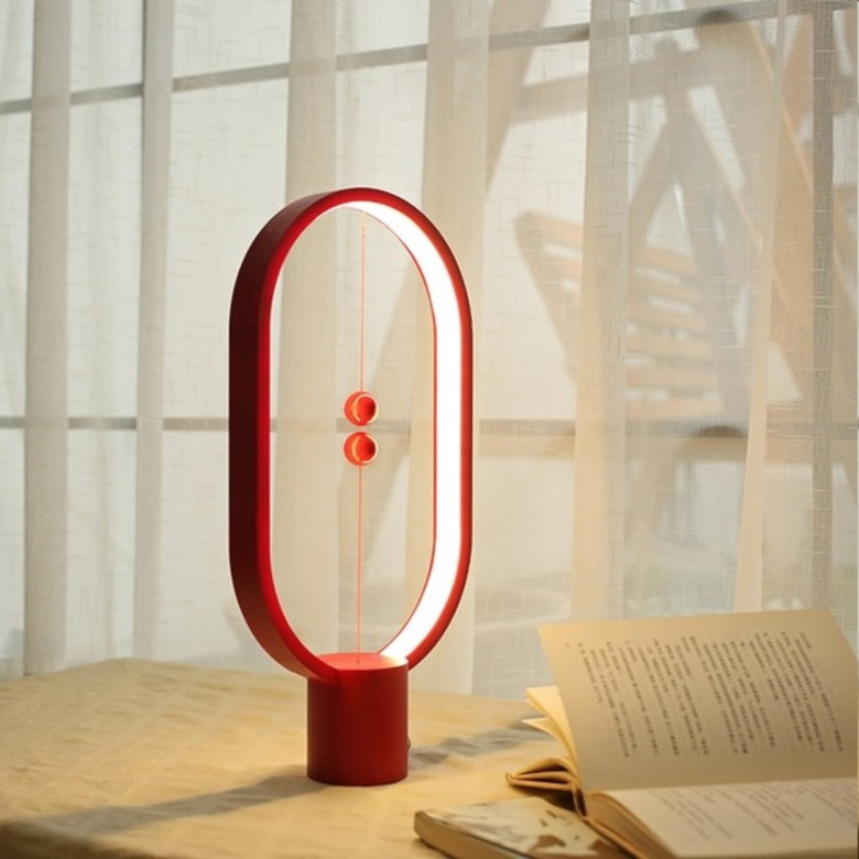 Designer Lamp with Magnetic Switch