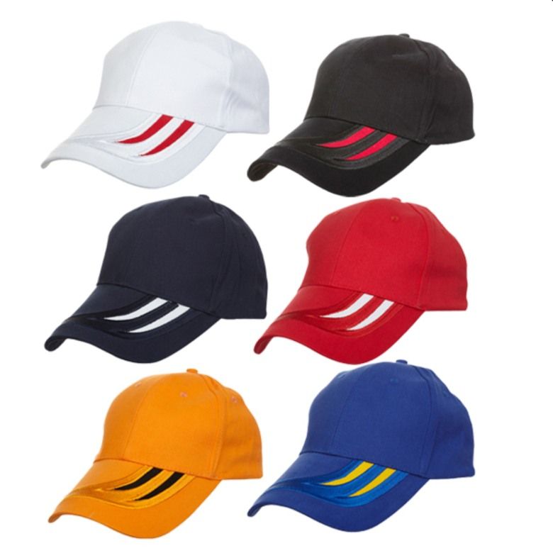 Baseball Cotton Brush Cap [6 panels]