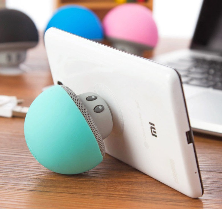 Mini Mushroom Bluetooth Speaker with Phone Answering