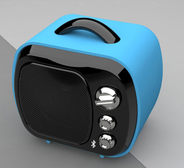 Mini Bluetooth MP3 Speaker with card reader