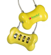 Bone Shaped Luggage Lock