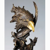 Bronze Sculpture - Eagle