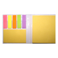 Multi Sticky Note with Hard Cover