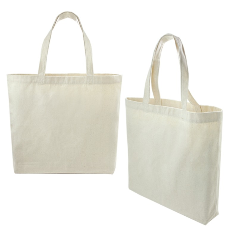 Quality Canvas Tote bag with base