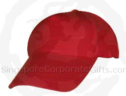 5 Panels Heavy Brushed Cotton Cap (7x&) Velcro Closure