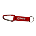 Carabiner with Metal Plate