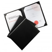 A4 Leather Certificate Holder 3