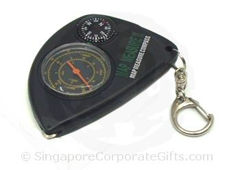 Compass with Map Measurer and Keychain