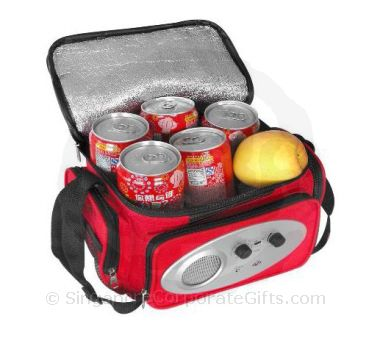Cooler Bag with Radio with side Pockets 4