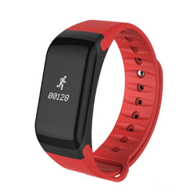 F1 Smart Bracelet with Blood Pressure Oximeter Heart Rate Monito