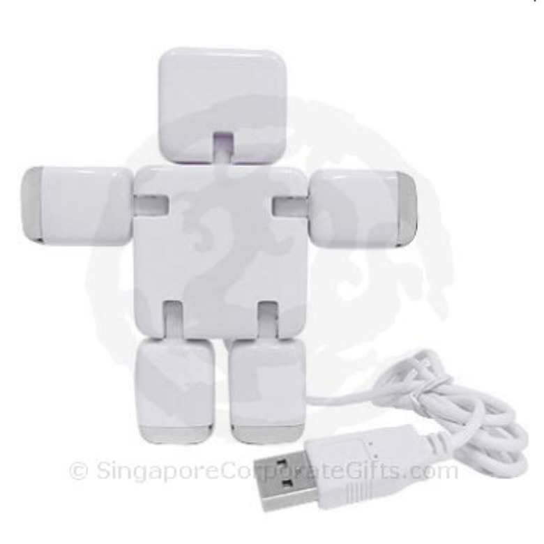 Robot shaped 4-Port USB HUB