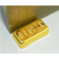 Gold Bullion Door Stopper