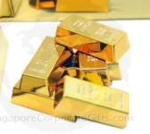 Gold Bullion Fridge Magnet cum Paper Weight