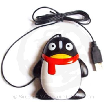 QQ Penguin Mouse