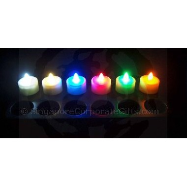Rechargable LED Candle (Single Colour) MP-12