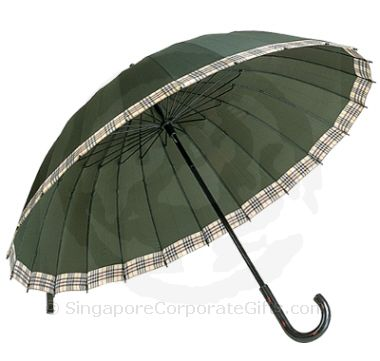 "Designer Golf Umbrella with auto open (30"")"