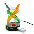 Aquarium Pen Holder with USB Hub