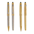 Exclusive Metal Pen with Shiny Black Finish 165-1-6(Ball,Roller)