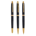 Exclusive Metal Pen with Shiny Black Finish 602-12 (Ball,Roller)