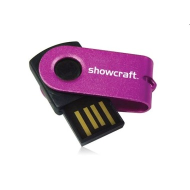 Metal Swivel Thumbdrive 1(4 G)