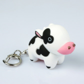 Cow LED Keychain with Voice