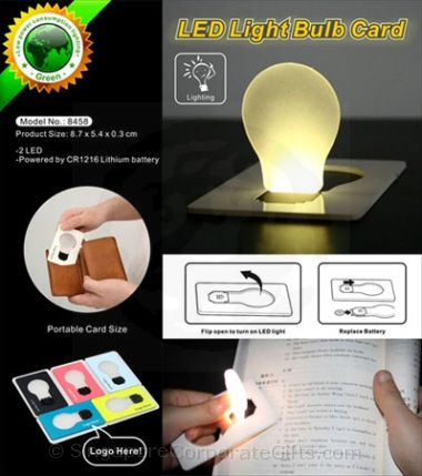 Credit Card size pocket lamp