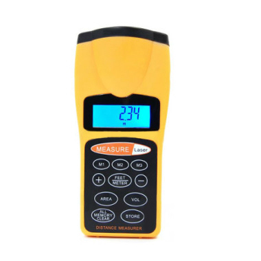 Ultrasonic Distance Meter with Laser Pointer