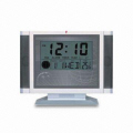 Multifunctional Wireless Doorbell with LCD Clock, Radio and 12/2