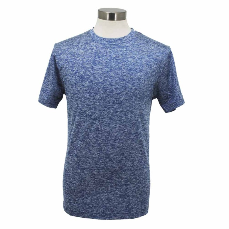 Dual Blend Sports Fabric Round Neck T-Shirt SJ192