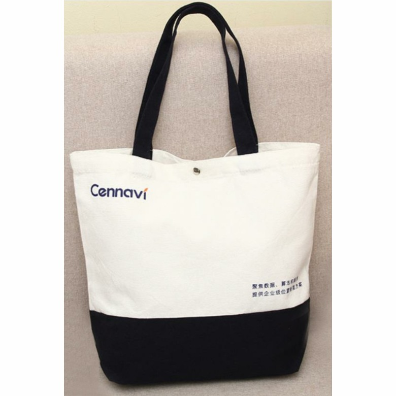 Dual colour Canvas Bag