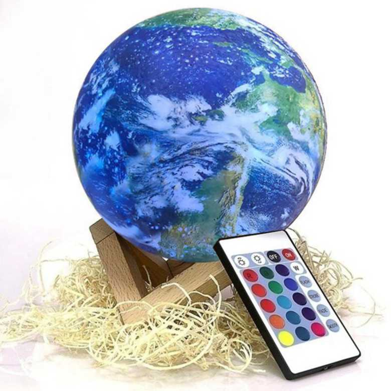 Earth Lamp with Remote [15cm]