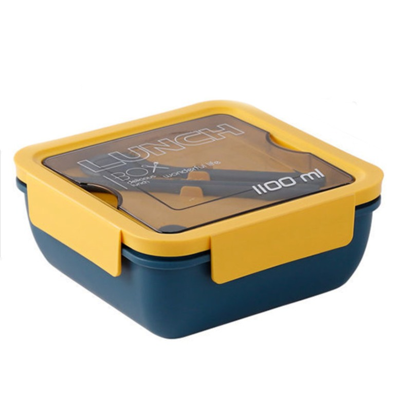 Food Container with cutlery [1100ml]