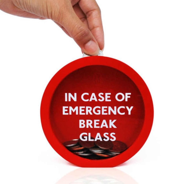 Emergency Coin Bank