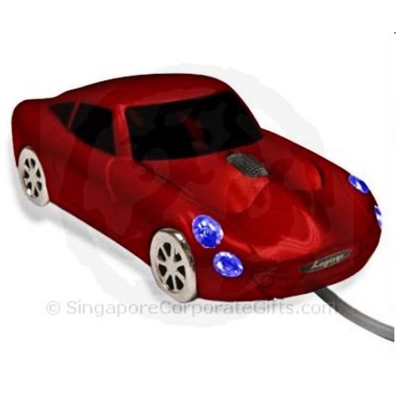 Wired Sports Car Mouse
