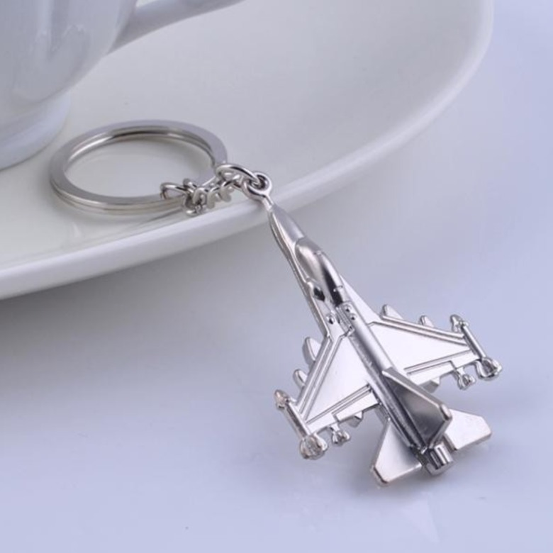 F16 Fighter Jet Keychain