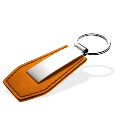 Genuine Leather Keychain 011A