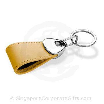 Genuine Leather Keychain 015A