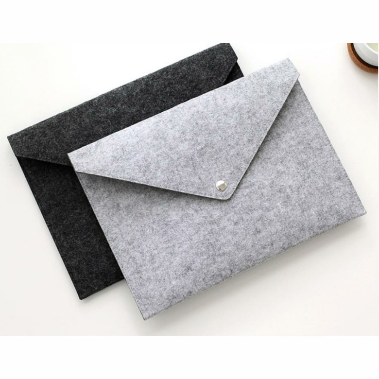 Felt Envelope Shaped Document Holder