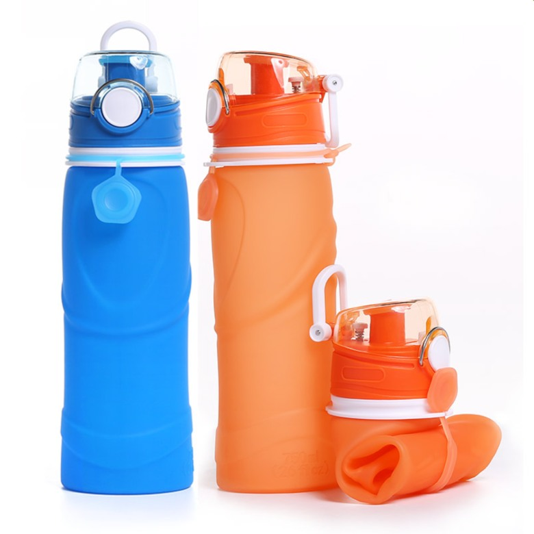 Leak proof Silicon Collapsible Water Bottle  [750ml]
