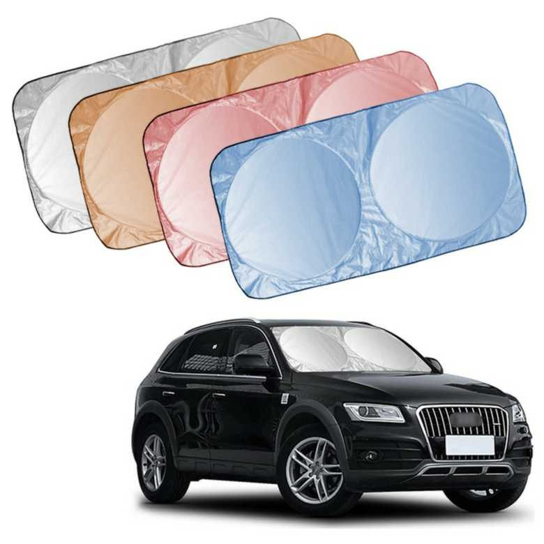 Foldable Sun Shade for Car Windscreen